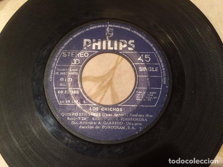 Discos de vinilo: Antiguo 4 single vinilo varios artistas, Bimbó, chango, chichos años 70 - Foto 8 - 104550779