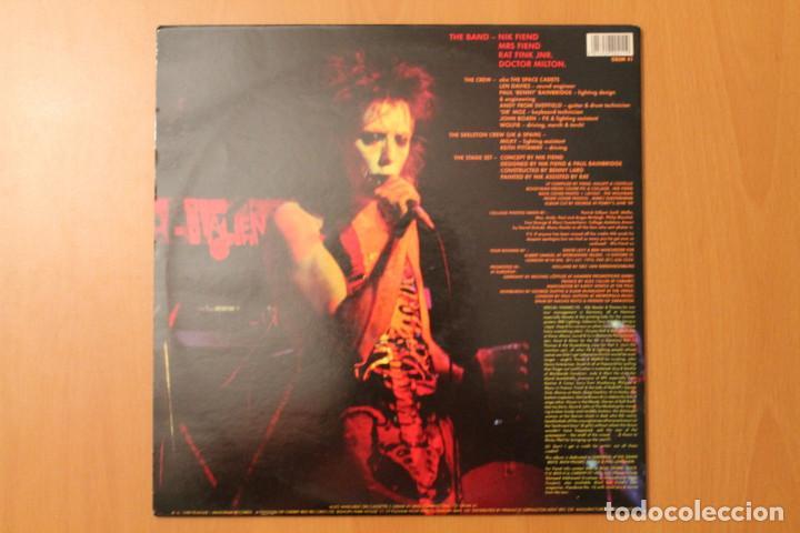 Discos de vinilo: Alien Sex Fiend - Too much acid? 2 LPs Live - Plague Anagram Records 1989 - Foto 2 - 104551159