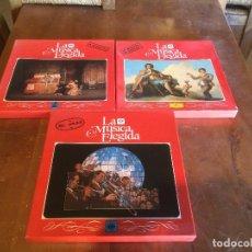 Discos de vinilo: ANTIGUO DISCO VINILO 4 PACS LA MÚSICA ELEGIDA AÑO 1983, EL JAZZ, LA MUSICA DE ESPAÑA, LA ZARZUELA . Lote 104551299