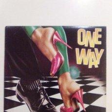 Discos de vinilo: ONE WAY FANCY DANCER ( 1981 MCA RECORDS USA ) ORIGINAL MUY BUEN ESTADO DISCO FUNK AL HUDSON. Lote 104553699