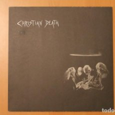 Discos de vinilo: CHRISTIAN DEATH - ATROCITIES + POSTER - NORMAL RECORDS 1986 GERMANY. Lote 104553759
