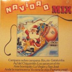 Discos de vinilo: NAVIDAD MIX - MIX DE VILLANCICOS LP 1989. Lote 104555787