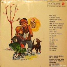 Discos de vinilo: ESCOLANIA DE LOS PADRES SACRAMENTINOS / ORFEON INFANTIL MEXICANO - VILLANCICOS LP 1963. Lote 104555879