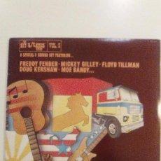 Discos de vinilo: THE HITKICKERS SERIES VOL. 5 3LP (1976 FESTIVAL USA) DOUG KERSHAW MICKEY GILLEY DOUG SAHM FLOYD TILM. Lote 104556019