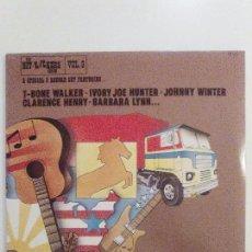 Discos de vinilo: THE HITKICKERS SERIES VOL 8 3LP (1976 FESTIVAL USA) JOHNNY WINTER BARBARA LYNN DOUG SAHM JEAN KNIGHT. Lote 104556219