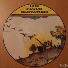 Discos de vinilo: 13TH FLOOR ELEVATORS - LIVE - CHARLY RECORDS 1992 PICTURE DISC. Lote 104557531