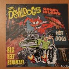 Discos de vinilo: THE DEVIL DOGS - BIG BEEF BONANZA! - CRYPT RECORDS 1990 ROMILAR-D RECORDS ESPAÑA. Lote 104558187
