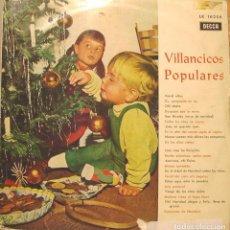 Discos de vinilo: VENID NIÑOS - VILLANCICOS POPULARES LP 1963. Lote 104558303