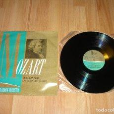 Discos de vinilo: MOZART - SINFONIA Nº40 LAS BODAS DE FIGARO. Lote 104562047