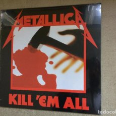 Discos de vinilo: METALLICA -KILL'EM ALL- (2015) LP DISCO VINILO. Lote 104564095