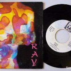 Discos de vinilo: RAY / AMOR / SINGLE 7 INCH. Lote 104566891