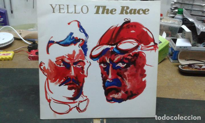 Discos de vinilo: YELLOW	- RACE (1988) - Foto 1 - 104574767