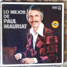 Discos de vinilo: LO MEJOR DE PAUL MAURIAT 8 LP. Lote 104576519