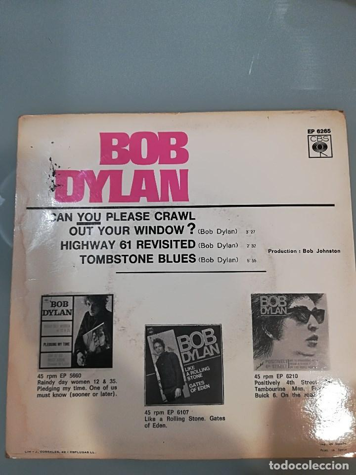 Bob Dylan Can You Please Crawl Out Your Window Comprar Discos