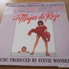 Discos de vinilo: LA MUJER DE ROJO. STEVIE WONDER.. Lote 104584483