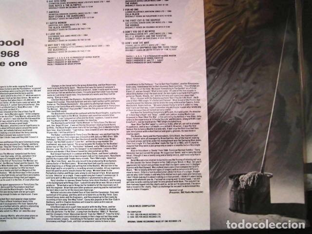Discos de vinilo: LIVERPOOL SOUND GRUPOS BEATLES AÑOS 60 DOS DISCOS COLECCION PRIVADA - Foto 5 - 104591507