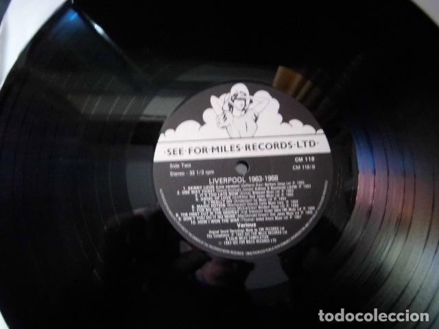 Discos de vinilo: LIVERPOOL SOUND GRUPOS BEATLES AÑOS 60 DOS DISCOS COLECCION PRIVADA - Foto 6 - 104591507