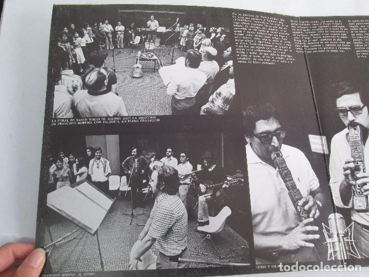 Discos de vinilo: MISA CRIOLLA Y CANTOS DE AMERICA LATINA. GRUPO TOLDERIA. LP VINILO. MOVIEPLAY 1975. VER FOTOS - Foto 3 - 104604315