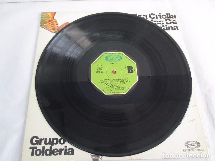 Discos de vinilo: MISA CRIOLLA Y CANTOS DE AMERICA LATINA. GRUPO TOLDERIA. LP VINILO. MOVIEPLAY 1975. VER FOTOS - Foto 7 - 104604315