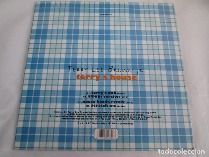 Discos de vinilo: TERRY LEE BROWN JR. TERRY´S HOUSE. E.P. VINILO. PLASTIC CITY 1997. VER FOTOGRAFIAS ADJUNTAS - Foto 8 - 104604475