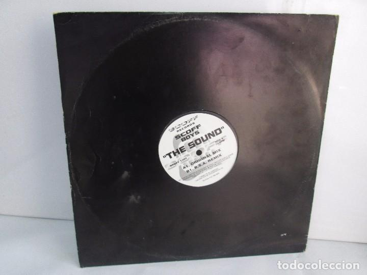 SCOFF BOYS. THE SOUND. E.P. VINILO. SCOFF RECORDS. VER FOTOGRAFIAS ADJUNTAS (Música - Discos - Singles Vinilo - Electrónica, Avantgarde y Experimental)