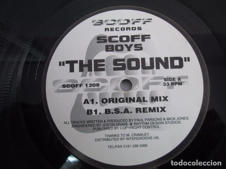 Discos de vinilo: SCOFF BOYS. THE SOUND. E.P. VINILO. SCOFF RECORDS. VER FOTOGRAFIAS ADJUNTAS - Foto 4 - 104605295