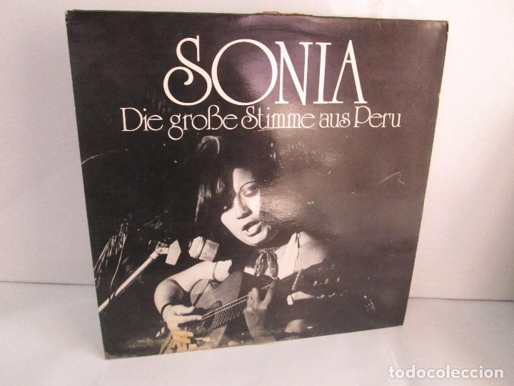 SONIA. DIE GROBE STIME AUS PERU. LP VINILO. TONBILD. VER FOTOGRAFIAS ADJUNTAS (Música - Discos - Singles Vinilo - Étnicas y Músicas del Mundo)