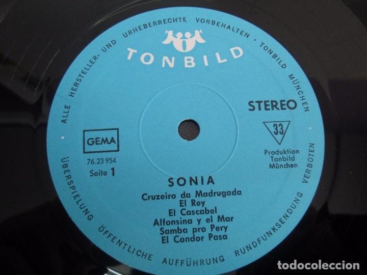 Discos de vinilo: SONIA. DIE GROBE STIME AUS PERU. LP VINILO. TONBILD. VER FOTOGRAFIAS ADJUNTAS - Foto 4 - 104605859