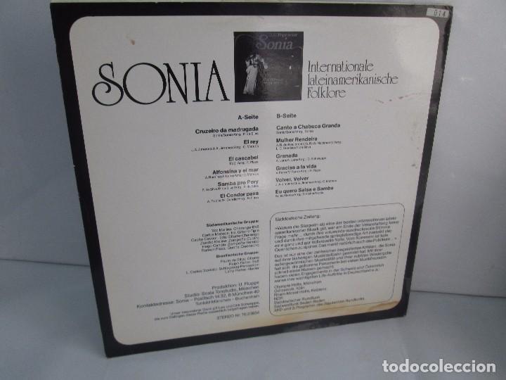Discos de vinilo: SONIA. DIE GROBE STIME AUS PERU. LP VINILO. TONBILD. VER FOTOGRAFIAS ADJUNTAS - Foto 9 - 104605859