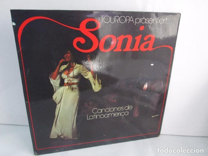SONIA. CANCIONES DE LATINOAMERICA. SONIA´S DEBÜT. LP VINILO. TONBILD. VER FOTOGRAFIAS ADJUNTAS (Música - Discos - Singles Vinilo - Étnicas y Músicas del Mundo)