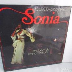 Discos de vinilo: SONIA. CANCIONES DE LATINOAMERICA. SONIA´S DEBÜT. LP VINILO. TONBILD. VER FOTOGRAFIAS ADJUNTAS. Lote 104606623