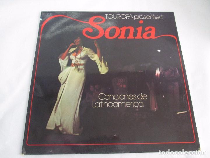 Discos de vinilo: SONIA. CANCIONES DE LATINOAMERICA. SONIA´S DEBÜT. LP VINILO. TONBILD. VER FOTOGRAFIAS ADJUNTAS - Foto 2 - 104606623
