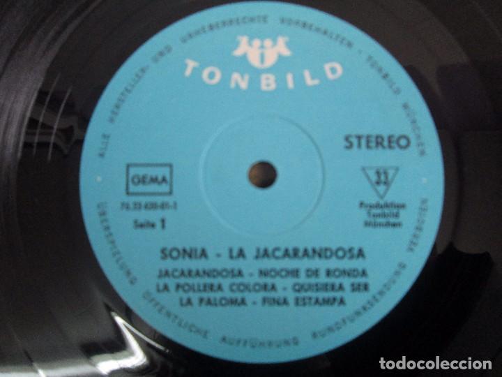 Discos de vinilo: SONIA. CANCIONES DE LATINOAMERICA. SONIA´S DEBÜT. LP VINILO. TONBILD. VER FOTOGRAFIAS ADJUNTAS - Foto 4 - 104606623