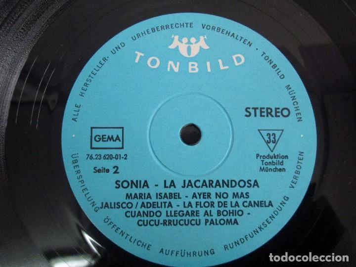 Discos de vinilo: SONIA. CANCIONES DE LATINOAMERICA. SONIA´S DEBÜT. LP VINILO. TONBILD. VER FOTOGRAFIAS ADJUNTAS - Foto 6 - 104606623
