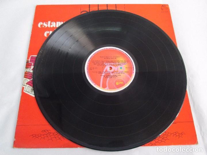 Discos de vinilo: ESTAMPAS CRIOLLAS TECHOS ROJOS EN CONJUNTO. LP VINILO. GRABACIONES MUNDIALES 1980. - Foto 3 - 104611519