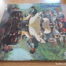 Discos de vinilo: SEVILLANAS. LOS ROMEROS DEL ALBA. CON ENRIQUE DE MARCHENA. Lote 104612883
