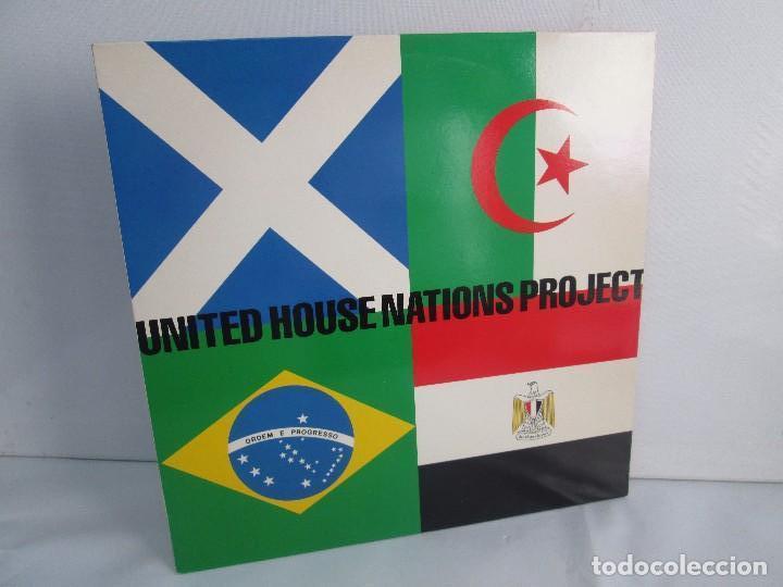 UNITED HOUSE NATIONS PROJECT. LP VINILO. VIRGIN 1988. VER FOTOGRAFIAS ADJUNTAS (Música - Discos - Singles Vinilo - Electrónica, Avantgarde y Experimental)