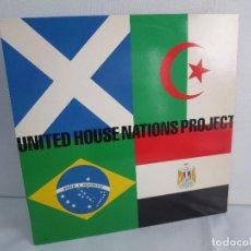 Discos de vinilo: UNITED HOUSE NATIONS PROJECT. LP VINILO. VIRGIN 1988. VER FOTOGRAFIAS ADJUNTAS. Lote 104621519