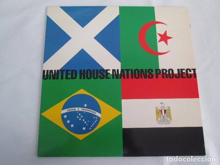 Discos de vinilo: UNITED HOUSE NATIONS PROJECT. LP VINILO. VIRGIN 1988. VER FOTOGRAFIAS ADJUNTAS - Foto 2 - 104621519