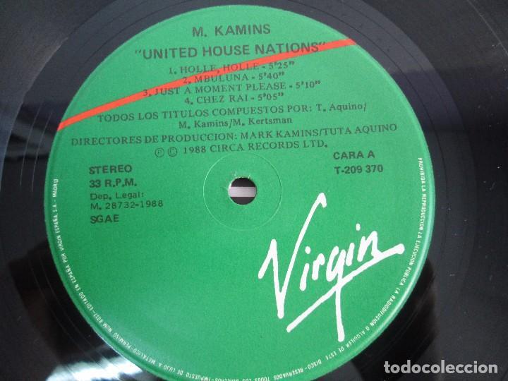 Discos de vinilo: UNITED HOUSE NATIONS PROJECT. LP VINILO. VIRGIN 1988. VER FOTOGRAFIAS ADJUNTAS - Foto 6 - 104621519