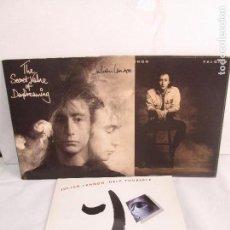 Discos de vinilo: JULIAN LENNON. 3 LP VINILO. VALOTTE. HELP YOURSELF. THE SECRET VALUE OF DAYDREAMING. VER FOTOS. Lote 104622443