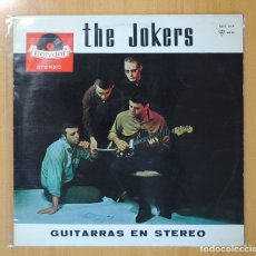 Discos de vinilo: THE JOKERS - GUITARRAS EN STEREO - LP. Lote 113163188