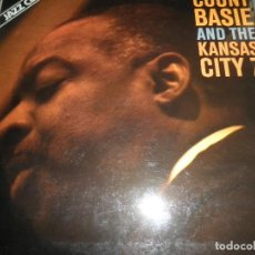 Discos de vinilo: COUNT BASIE AND THE KANSAS CITY 7 LP - EDICION ESPAÑOLA - ABC IMPULSE 1978 - GATEFOLD COVER -. Lote 104629375