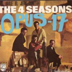 Discos de vinilo: 4 SEASONS, THE, EP, OPUS 17 + 3, AÑO 1966. Lote 104636491