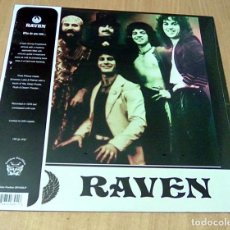 Discos de vinilo: RAVEN - WHO DO YOU SEE... (LP 2013, GOLDEN PAVILION RECORDS ?GP1020LP ) PRECINTADO. Lote 104641451