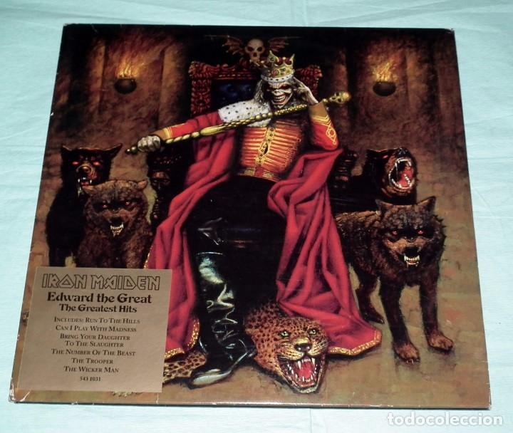 LP IRON MAIDEN - EDWARD THE GREAT - DOBLE PICTURE DISC (Música - Discos - LP Vinilo - Heavy - Metal)