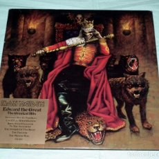 Discos de vinilo: LP IRON MAIDEN - EDWARD THE GREAT - DOBLE PICTURE DISC. Lote 104645735
