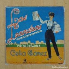 Discos de vinilo: CELIA GAMEZ - LAS LEANDRAS - CHOTIS DEL PICHI + 3 - EP. Lote 104646374