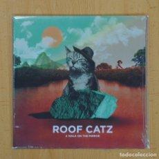 Discos de vinilo: ROOF CATZ - A WALK IN THE MIRROR / WINTER FLOWER - SINGLE. Lote 104646656