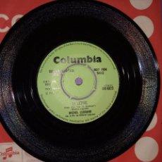 Discos de vinilo: MICHEL LEGRAND – THE GO BETWEEN (LE MESSAGER). EDICION UK. PROMOCIONAL. Lote 104648543